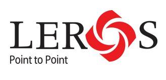 Leros Point to Point_Logo - BLACK_L